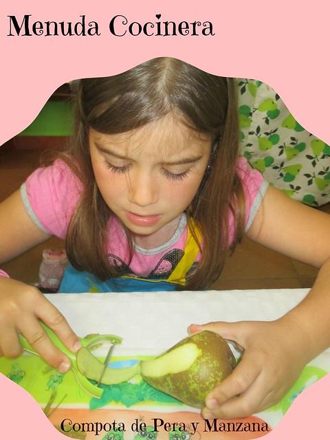 Compota de Pera y Manzana