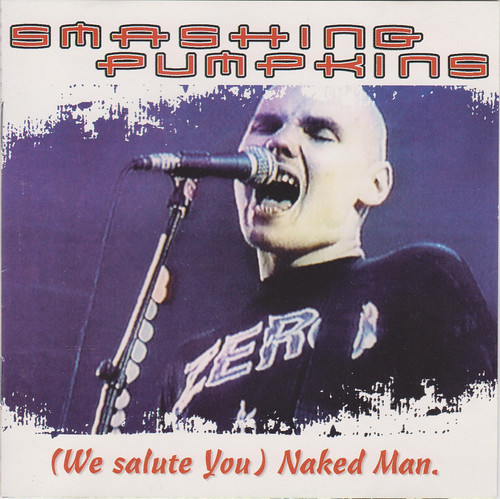 smashing pumpkins - we salute you naked man