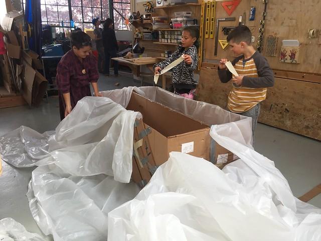 Cardboard Boats