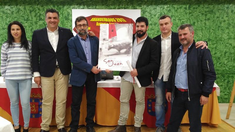 """El cauriense Vicente Valiente de la Reguera ha sido el ganador del Concurso de Carteles """"San Juan 2017"""""""