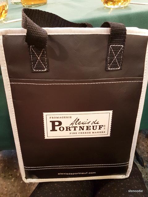 Alexis de Portneuf cooler bag