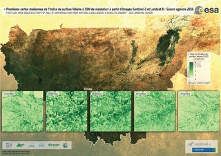 First leaf area index maps of Mali (10m resolution) – 2016  (Sen2-Agri) | by CGIAR Climate