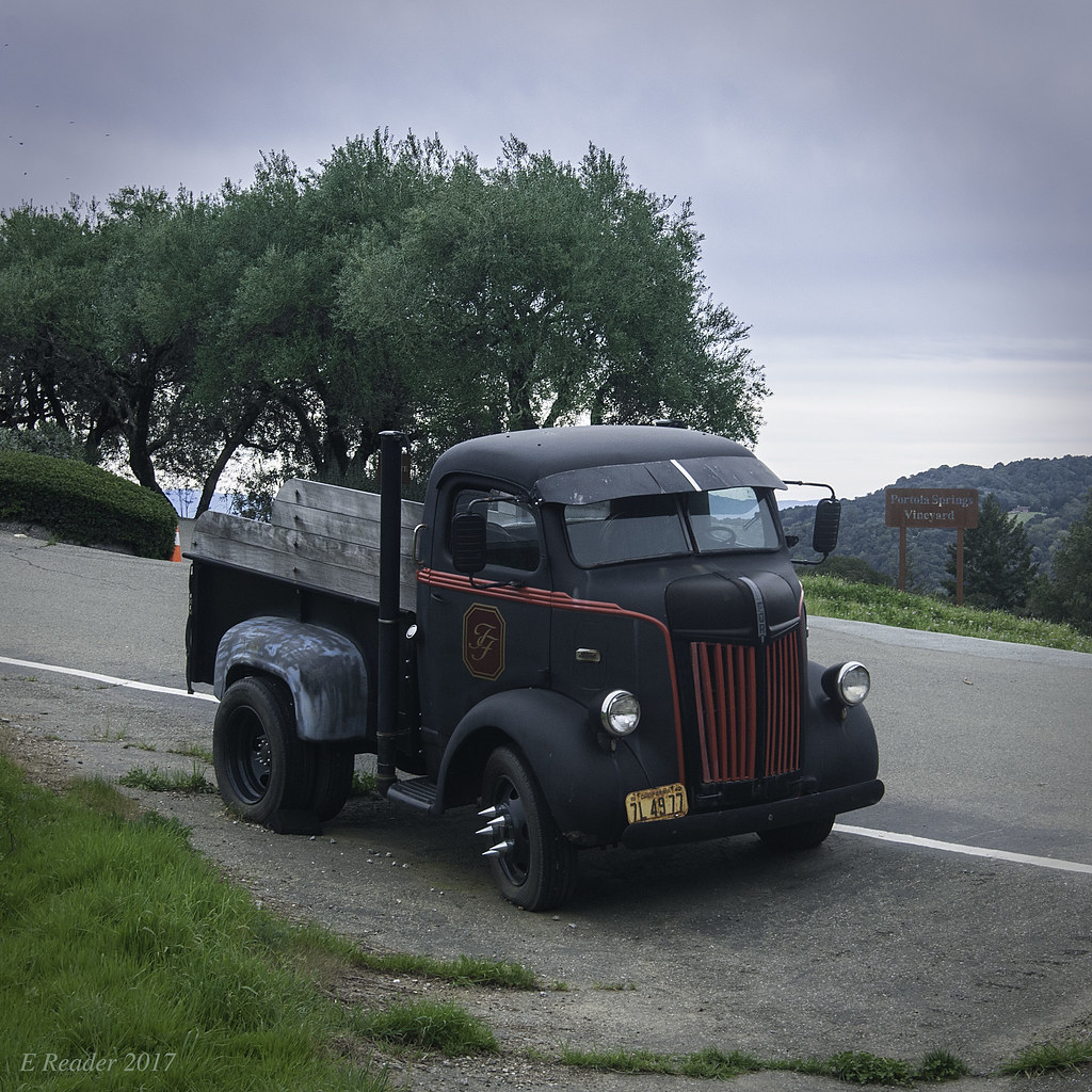 Vintage 1940 S Ford Coe Pickup A Restored 1940 S Coe Cab Flickr