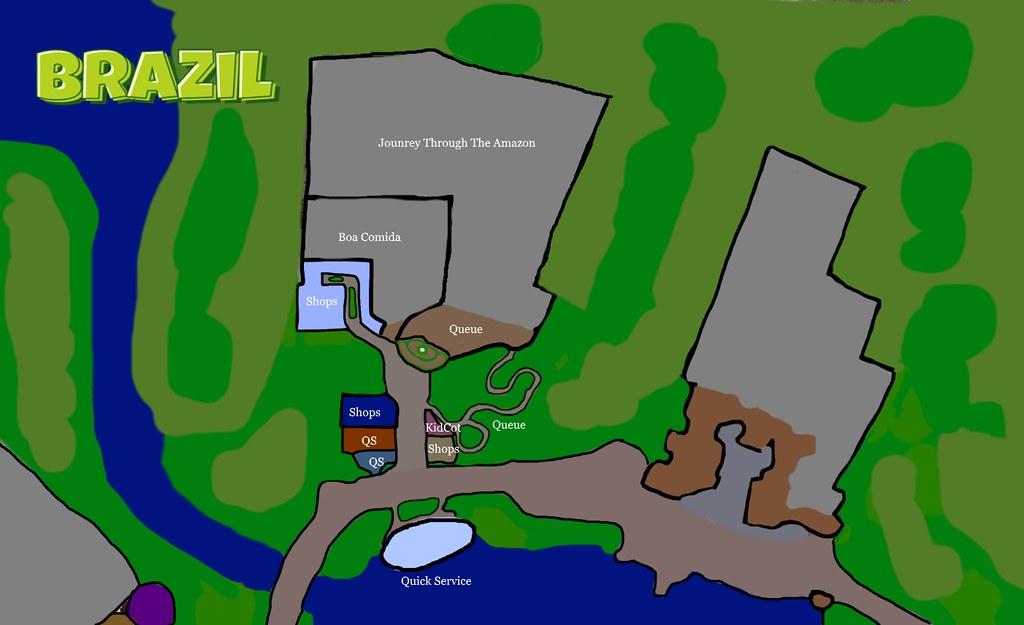 Brazil Pavilion - Epcot World Showcase | WDWMAGIC - Unofficial Walt ...