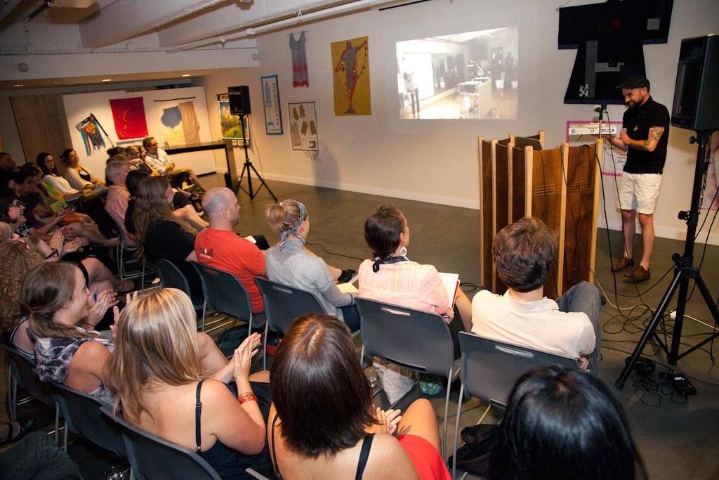 Low Residency MFA in Visual Studies Lecture: Sean J  Patri