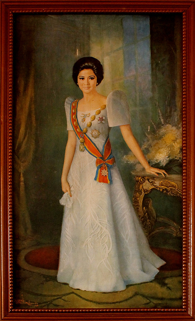 Portrait of Imelda Marcos | More photos from Malacañang of t… | Flickr