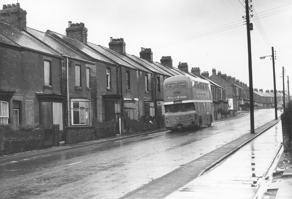 Image result for black and white terraced street