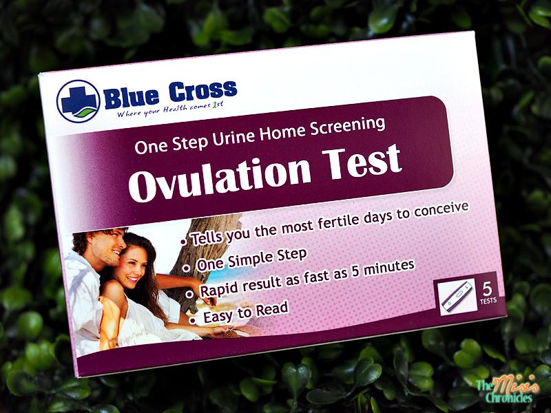 Blue Cross Ovulation Test