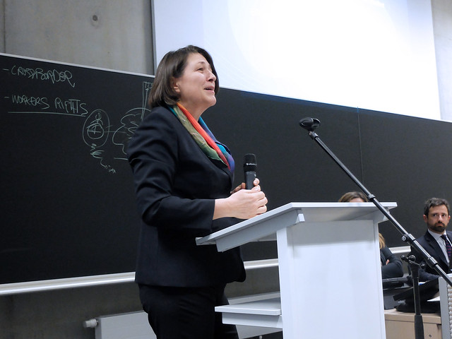 Conference with Commissioner Violeta BULC in the framework of the European Political and Administrative Studies Simulation Game.27 Jan 2017
