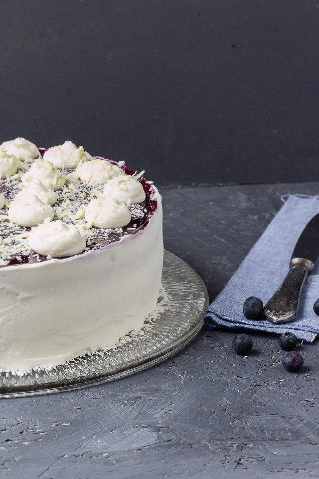 Blaubeeretorte via lunchforone