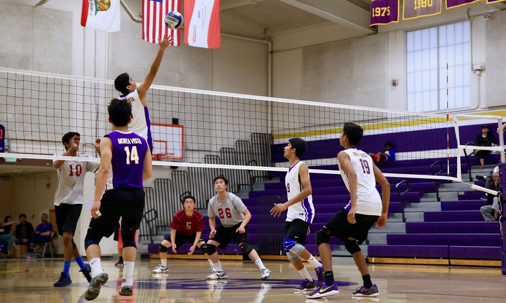 Boys volleyball: MVHS vs Cupertino HS