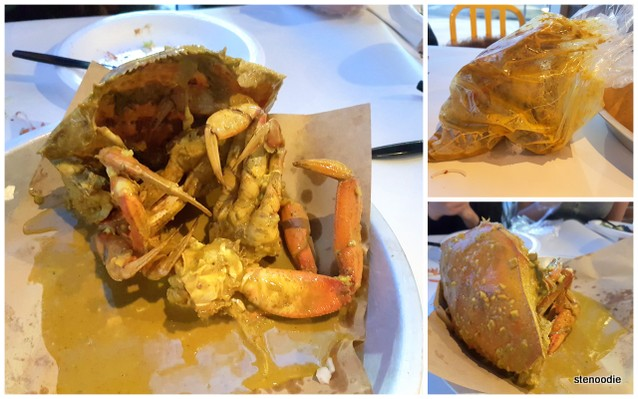 Dungeness Crab with Curry