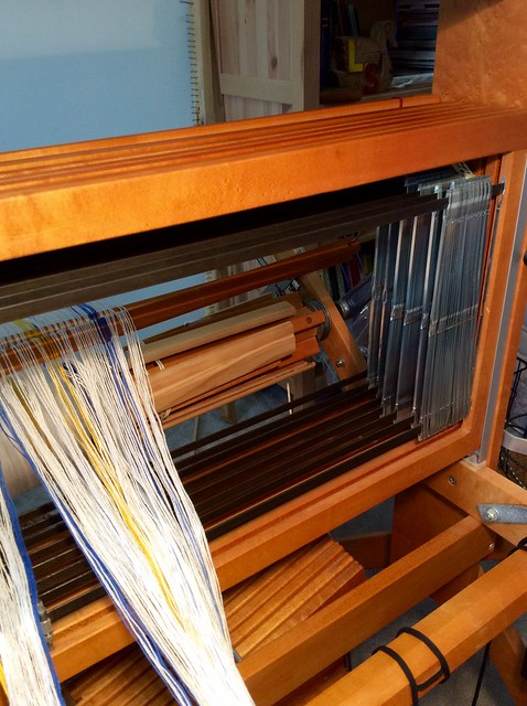 Threading for Elin Towels on Schacht Mighty Wolf loom by irieknit