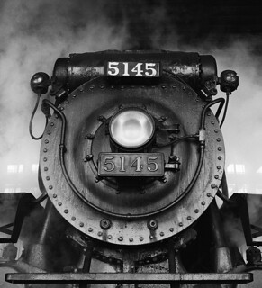 Canadian Pacific no. 5145, by David Plowden