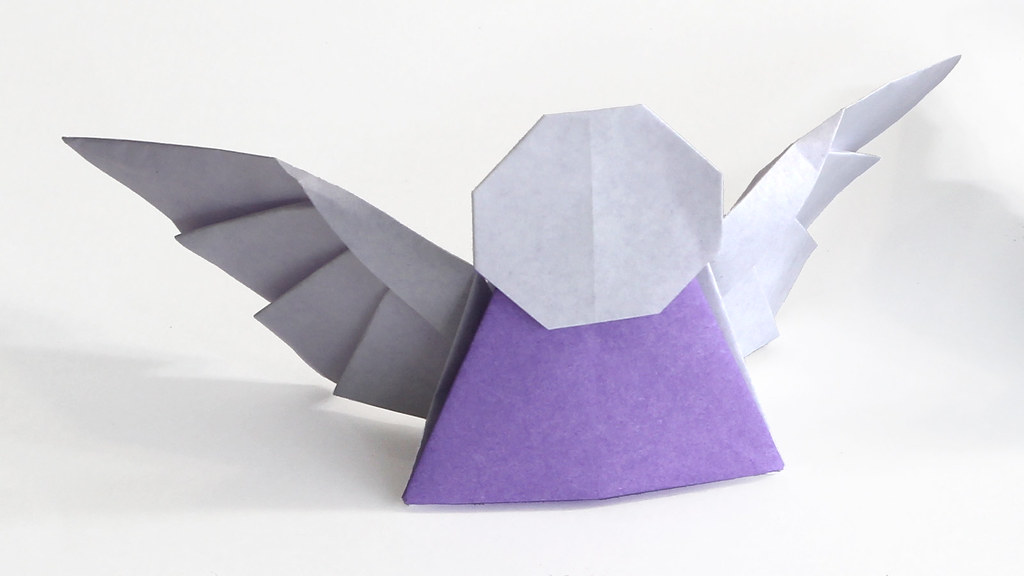 Origami Angel 11 By Tadashi Mori An Improved Version Of Flickr
