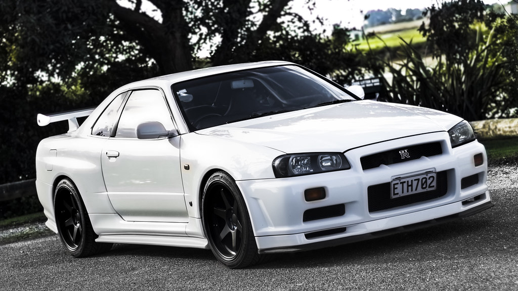 ... Nissan Skyline R34 GT R | By Liam Grange Design And Photography