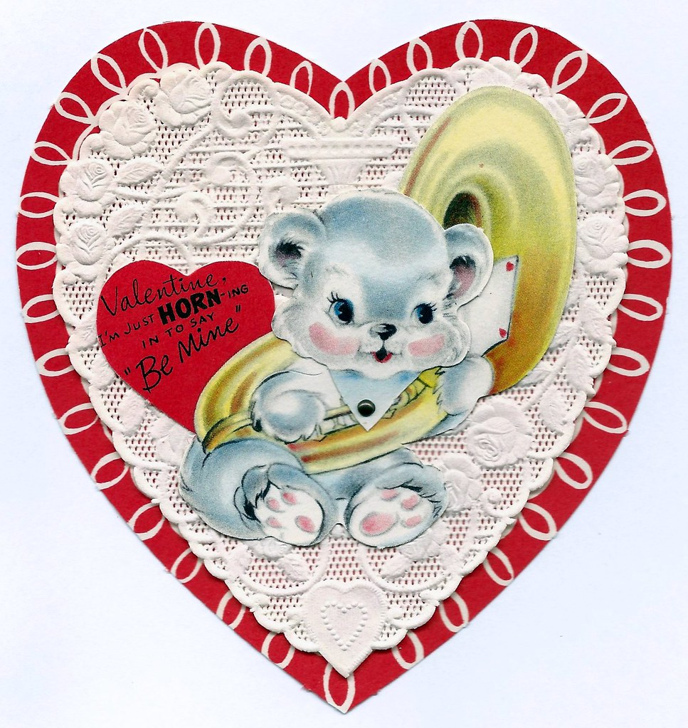 Vintage valentine day greeting card by american greetings flickr vintage valentine day greeting card by american greetings company moveable format circa 1960s m4hsunfo