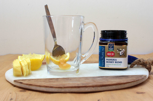 Manuka honey for colds