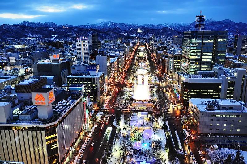 札幌雪祭_大通會場