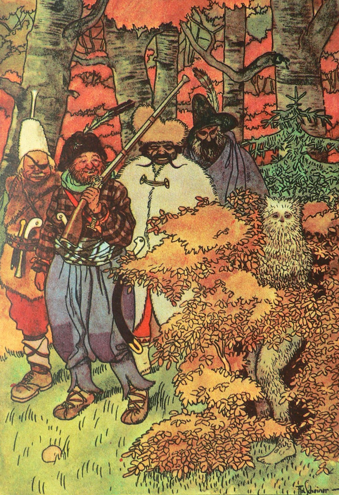 Artus Scheiner - Robbers of the Enchanted Forest