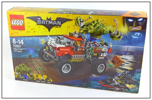 The LEGO Batman Movie 70907 Killer Croc Tail-Gator box01