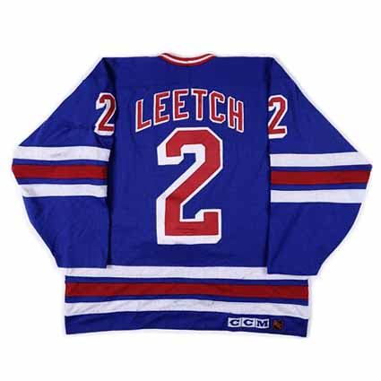 New York Rangers 1991-92 B jersey
