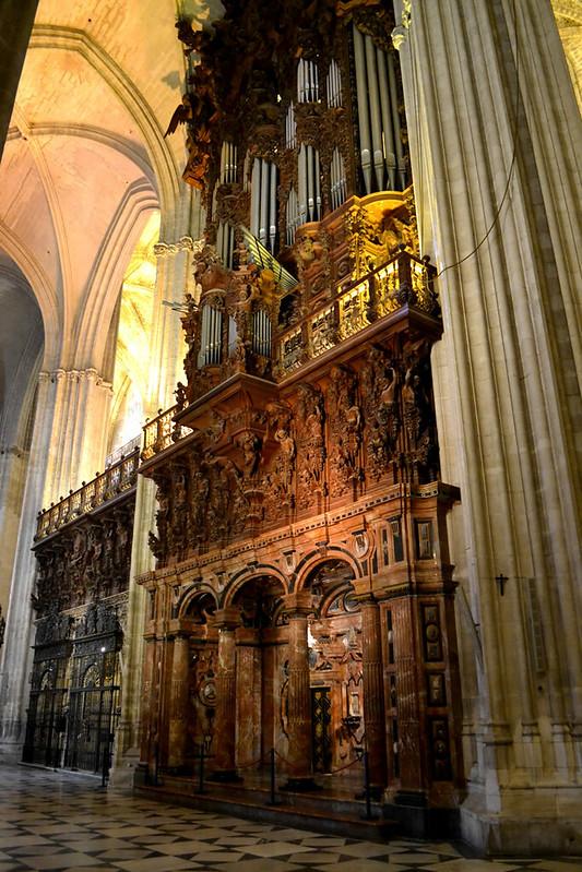 Otro de los grandes organos de la Catedral
