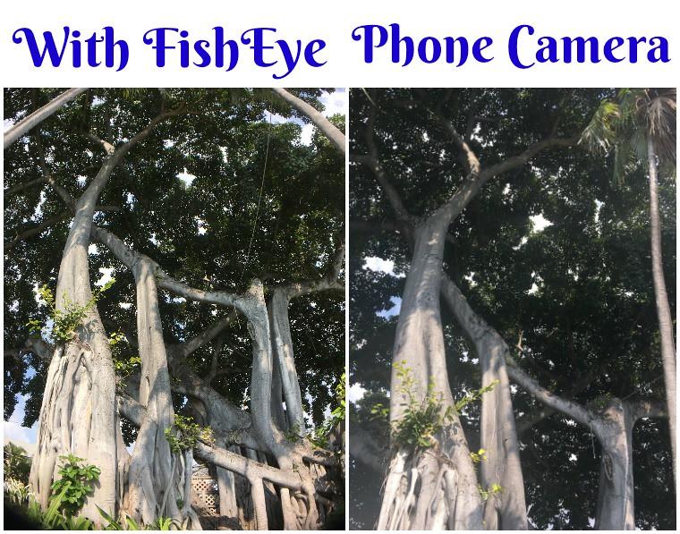 PolarPro FishEye photo comparision