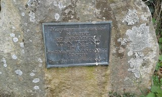 John Ireland plaque