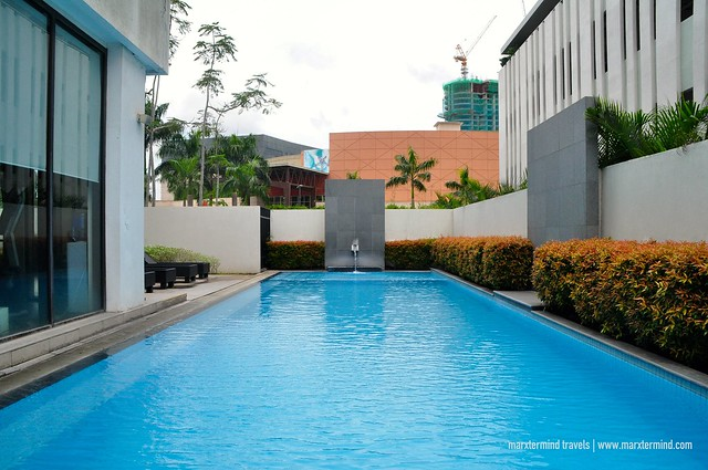 Outdoor Pool at Seda Abreeza Davao Hotel