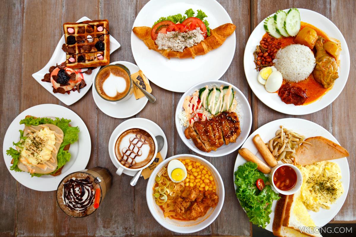 普冲迪姆咖啡馆早餐