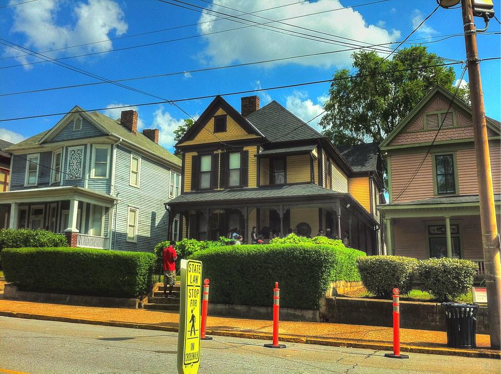 Dr Martin Luther King Jr House 501 Auburn Avenue Atl Flickr