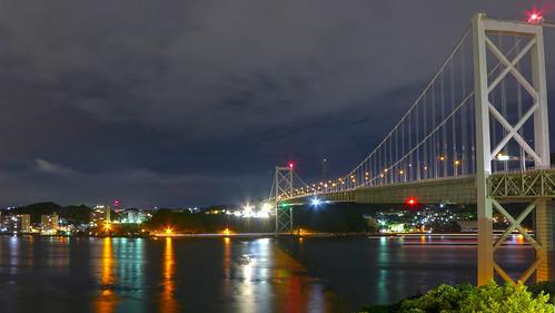 Kanmonkyo bridge. 関門橋