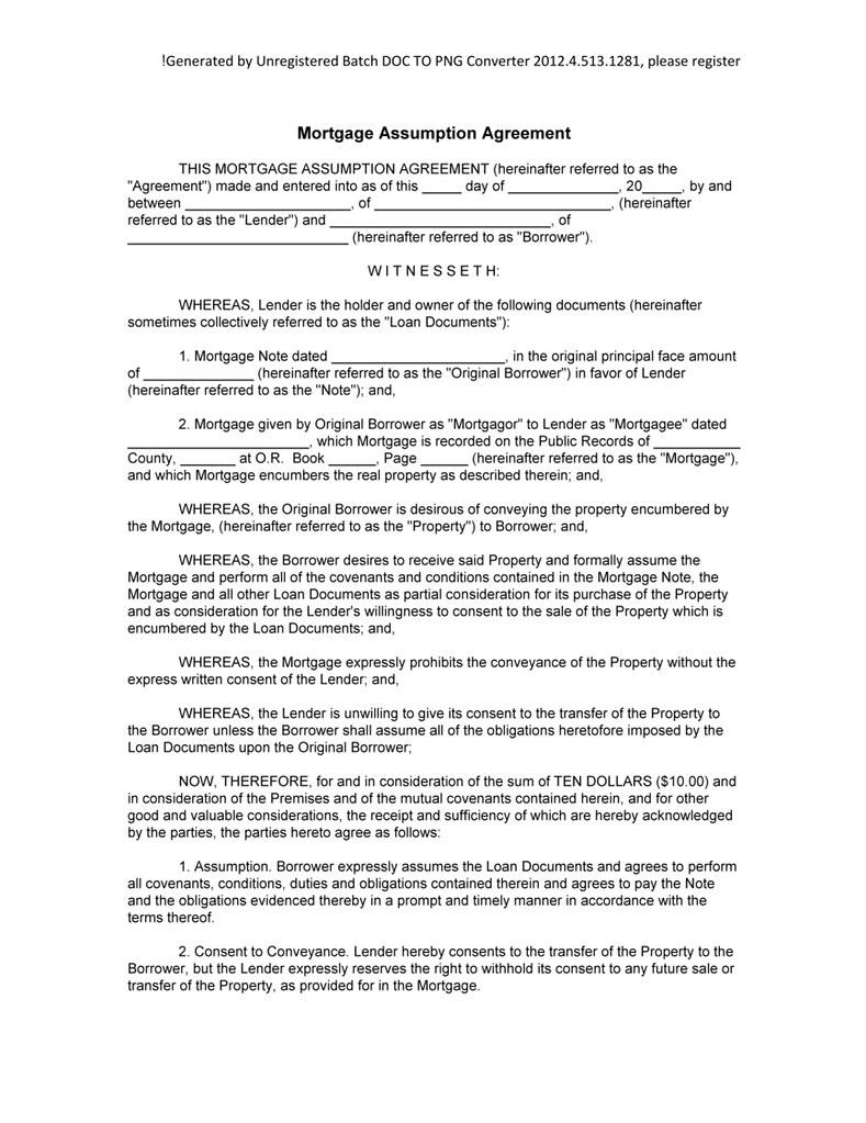 Mortgage Assumption Agreement Stan Stanchev Flickr