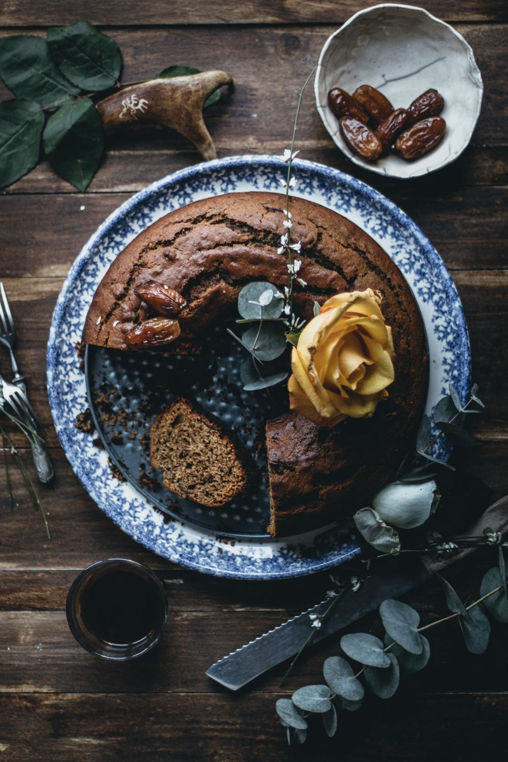 Finnish Date & Coffee Bundt Cake | Lab Noon by Saghar Setareh-26