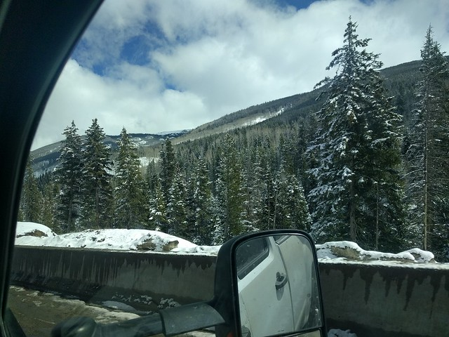 Snow on the pass