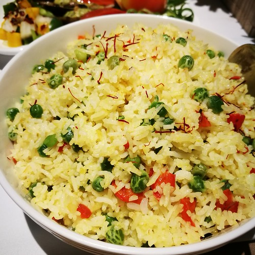 DavaoFoodTripS.com : Saffron and Pimiento Basmati Rice | Seda Abreeza Summer Treats in Misto, Flavors of the Philippines and Their International Rice Bowls
