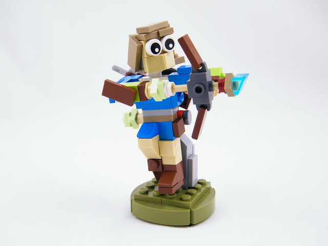 Link from Zelda: Breath of the Wild