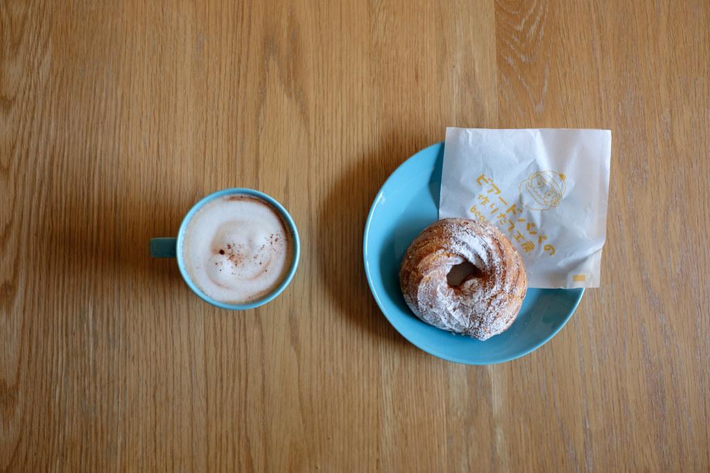 リングシューとコーヒー 2017/03/12 X7006500