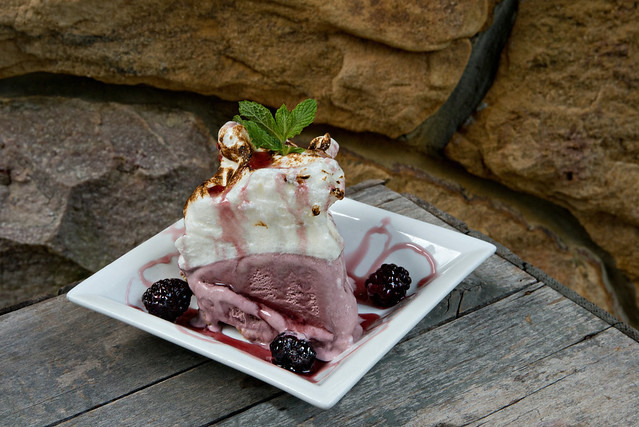 Blackberry Ice Cream Pie - Peaks of Otter
