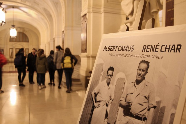 soirée lecture Albert Camus – René Char avec la Comédie Française