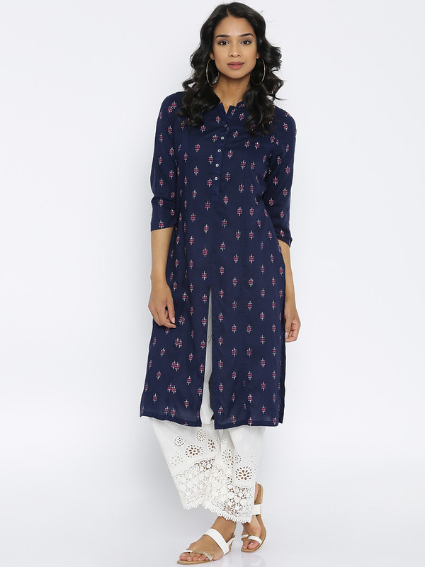 Melange long kurta