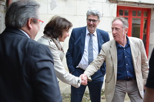 Marisol TOURAINE à Esvres, Bossée et Loches