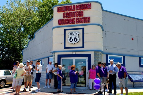 Litchfield Museum & Route 66 Welcome Center, Litchfield, Illinois | by RoadTripMemories