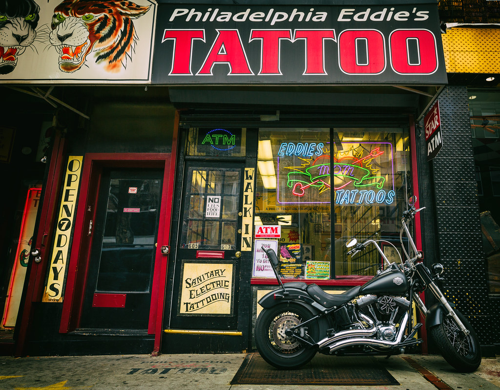 Philadelphia Ed S Tattoo By Darren Loprinzi Philadelphia Ed S Tattoo By Darren Loprinzi
