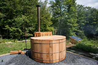 Wood Fired Hot Tub | by goingslowly