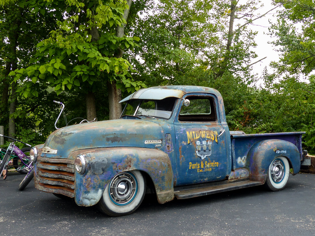 Pickup 1949 chevrolet pickup : Midwest Parts And Service's Rusty 1949 Chevrolet 3100 Pick…   Flickr