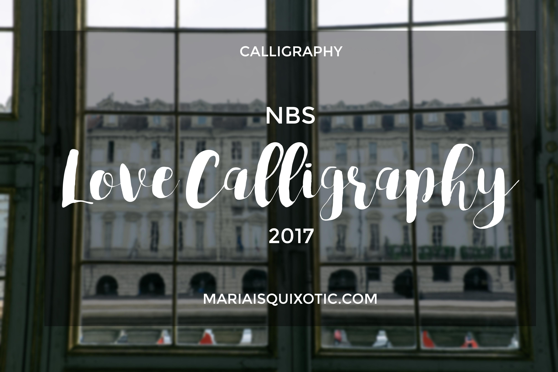 Love Calligraphy 2017