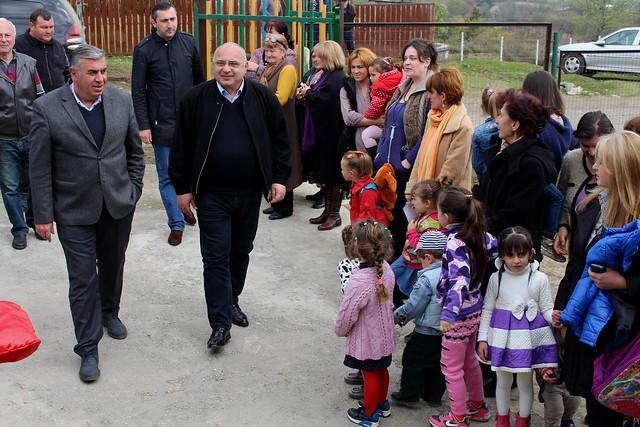 სოფელ ამაღლებაში რეაბილიტირებული საბავშვო ბაღი გაიხსნა
