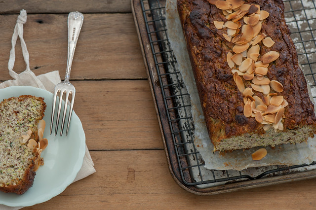 -Honey & Almond Zucchini Cake-2